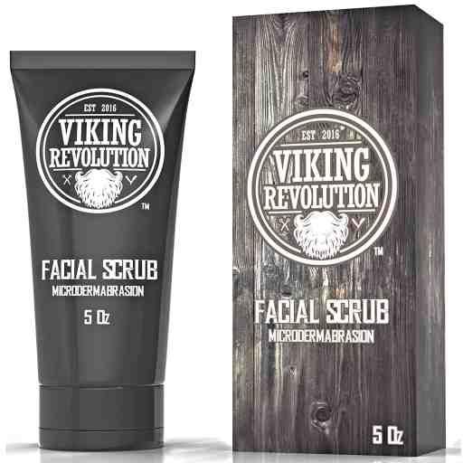 Viking Revolution Microdermabrasion Face Scrub for Men Review