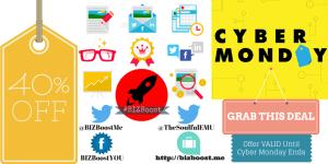 BIZBoost #CyberMonday Deal