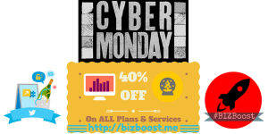 BIZBoost #CyberMonday OFFER On Pricings