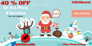 #BIZBoost Christmas OFFER