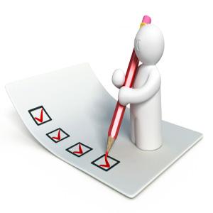 経理の履歴書チェックリスト