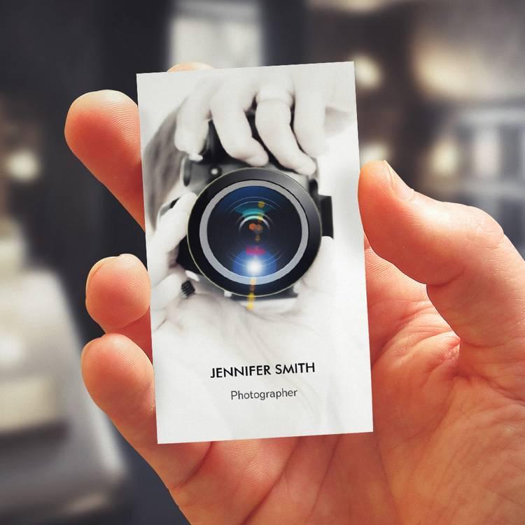 Unique Photography Business Card Designs
