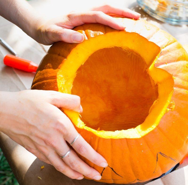 Calabazas de halloween c mo hacerlas decoraci n fotos y dibujos - Como hacer calabazas de halloween ...