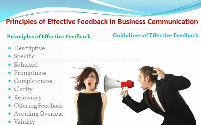 Principles of Effective Feedback in Business Communication