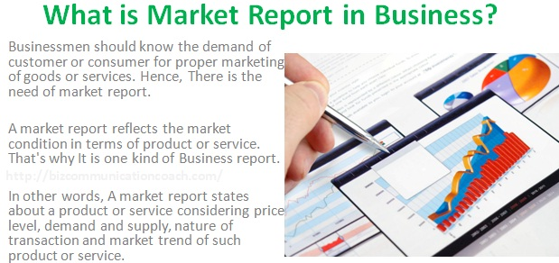 What is Market Report