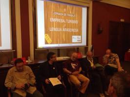 JORNADA DE TRABAJO EMPRES, TURISMO Y LENGUA ARAGONESA 1