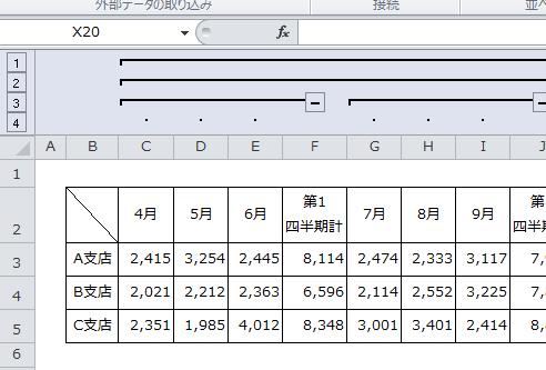 Excel_グループ化_3