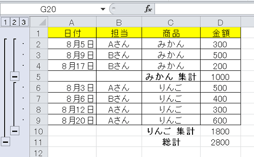 エクセル_集計_6