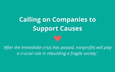 Calling on Companies to Support Nonprofits