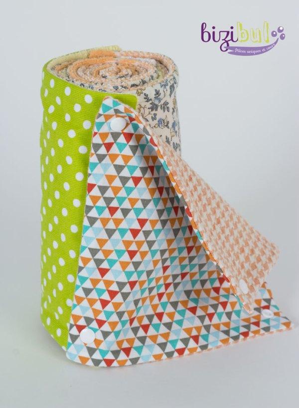 coudre un essuie tout lavable en cours de couture c'est un 1er pas dans le zéro déchet