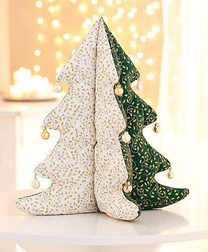 Tuto couture sapin de Noël de décoration de table. Une couture de Noël simple pour débutant.