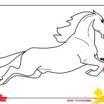 How To Draw A Horse 3 Easy Slowly Step By Step For Kids And Beginners