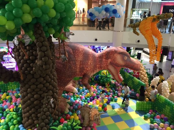 Inflated-dinosaur