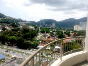 Paradise hotel hill view