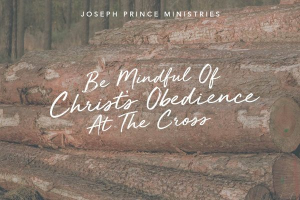 Christ obedience at the cross