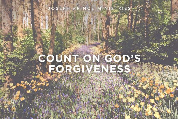 Count on God's Forgiveness
