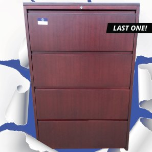 Cherry Office Filing Cabinet