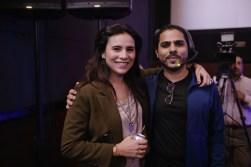 Zoe Viccaji and Zohaib Kazi