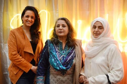 Dr.Muzna, Khursheed Haider, Asia Saeed
