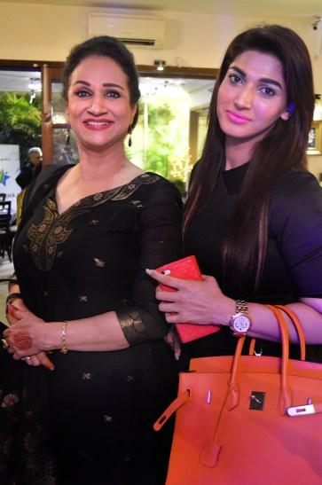 Bushra Ansari & Sana Fakhar