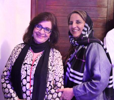 Sultana Siddiqui and Shanaz Ramzi