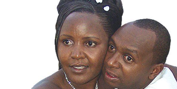 Sarah and Simon Kabu