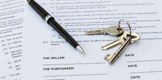 Legal document forsale of real estate property