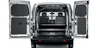 interior view of a cargo van