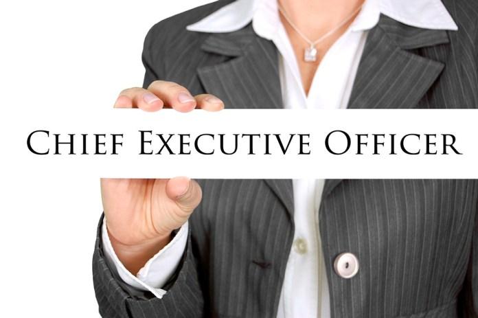 Chief Executive Desk Tag