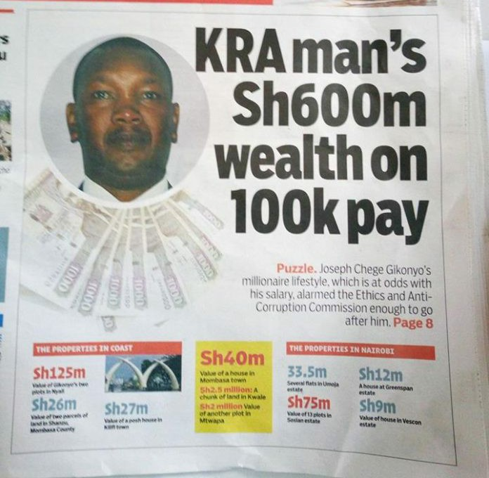 Corruption at KRA