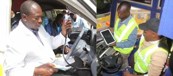 NTSA inspection charges