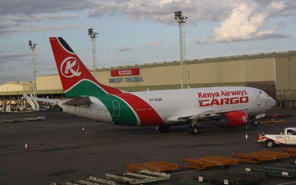 Kenya Airways crew