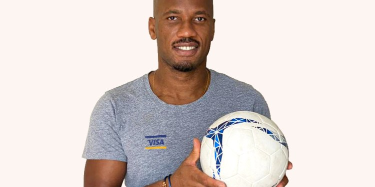 """Visa partners with legend Didier Drogba to champion small businesses and show 'Where You Shop Matters"""" - Bizna"""