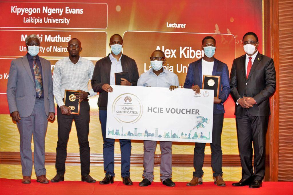 First Prize for Network Team - Global ICT Competition - Bizna Kenya