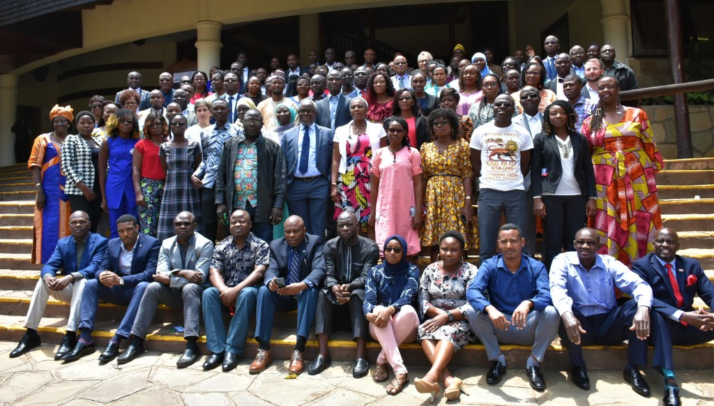 Participants at the launch ceremony of the inaugural cohort of the One Planet Fellowship held in Nairobi Kenya in September 2019 - Bizna Kenya