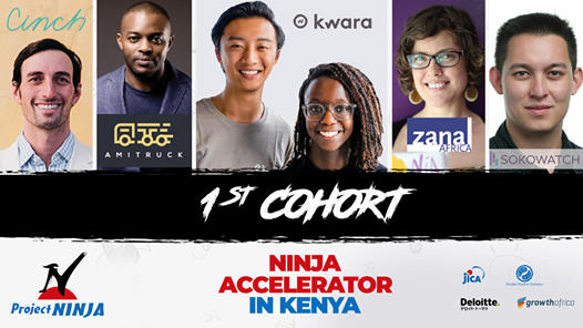 JICA's NINJA Accelerator in Kenya Kicks Off: 5 promising ventures announced