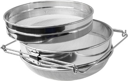 Double sided sieve