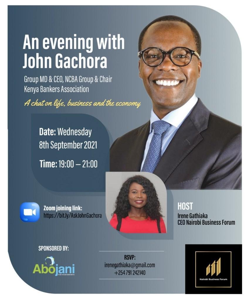 An evening with John Gachora - Abojani