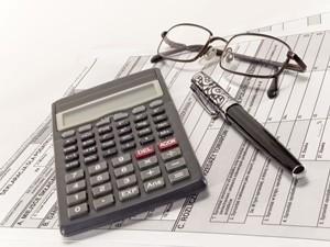 Tax calculation.