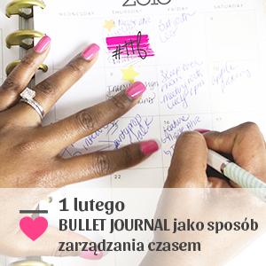 2017-02-01 Bullet Journal jako sposób zarządzania czasem