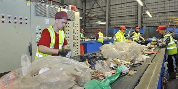 Переработка мусора обучение