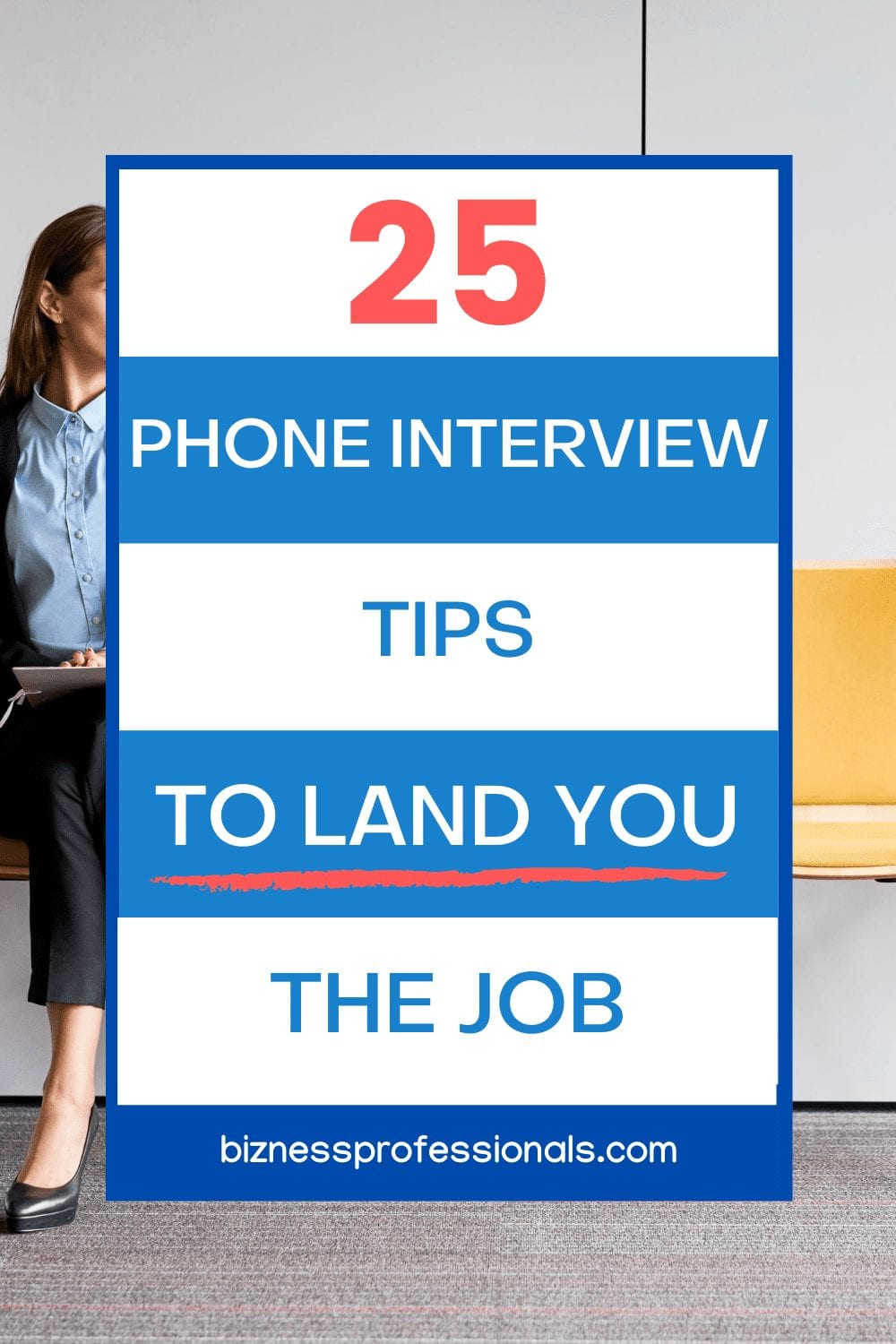 phone interview tips to land you the job