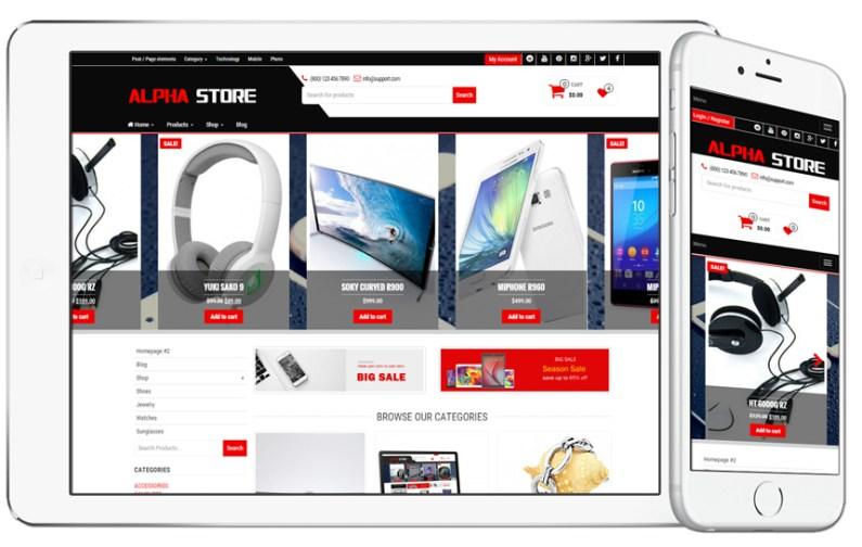8675e64f4399 Webstránka pre Internetový obchod