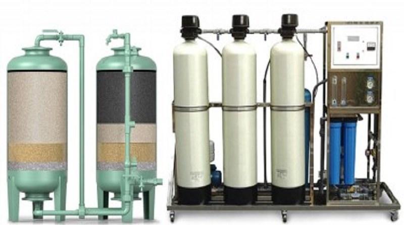 Sand Carbon Filter Process