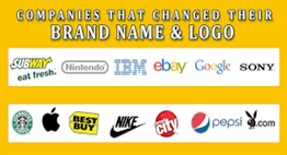 Changing the Business Name- New Name, New Brand, New Look