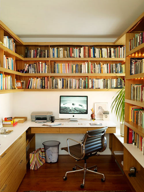 compact office space