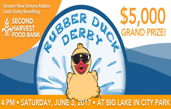 Rubber Duck Derby River Parish Disposal Sponsored Events