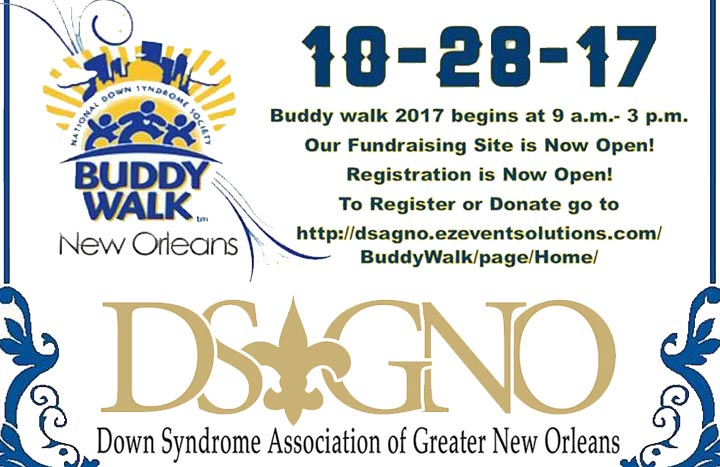 Buddy Walk fundraiser designed to celebrate individuals with Down syndrome