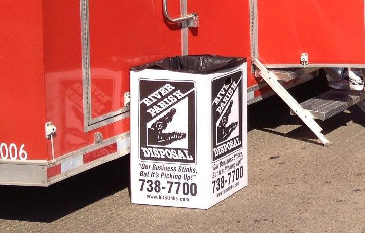 Corrugated Waste Boxes