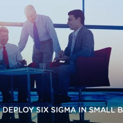 SIX SIGMA IN SMALL BUSINESS